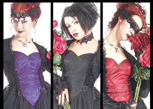 Gothic Prom Dress