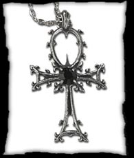 Vampire Ankh Necklace