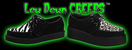 1 inch sole Creepers