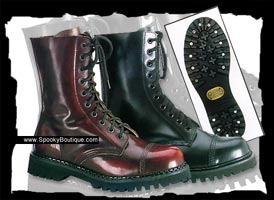 10-Hole Boots