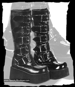 SPOOKY BOUTIQUE - Platform Boots, Gothic Platforms for Men & Women