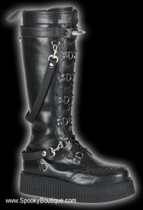 V-CREEPER-588 - Veggie Creeper Strap Boots
